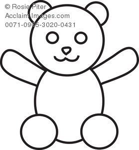 Teddy Bear Coloring Pictures.