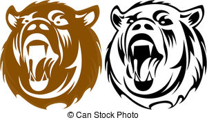 Bear animal totem Clip Art Vector and Illustration. 57 Bear animal.