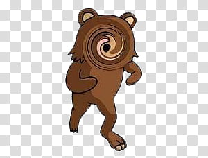 Bears Vector transparent background PNG cliparts free.