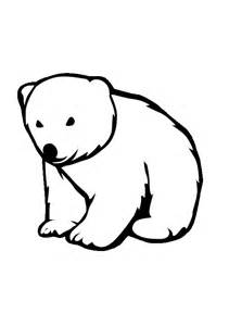 Baby Polar Bear Clipart.