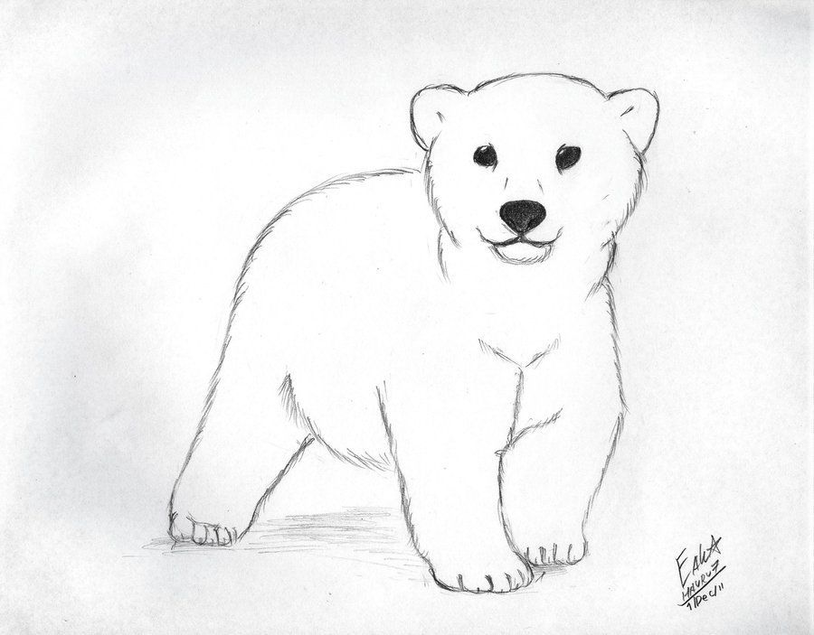 Bear cub clipart black and white 2 » Clipart Portal.