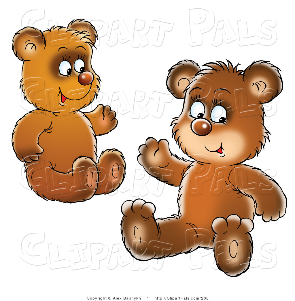 School Bear Cub Clipart.