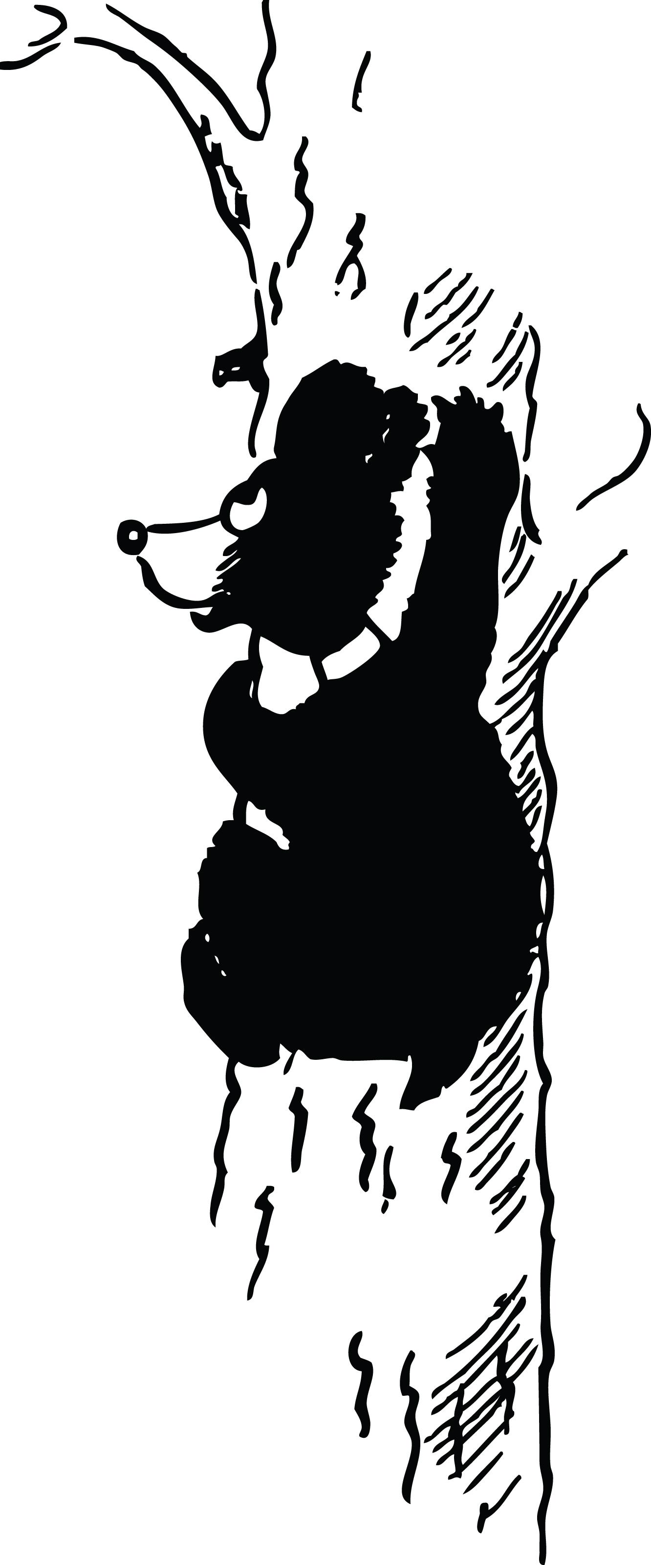 659 Black Bear free clipart.