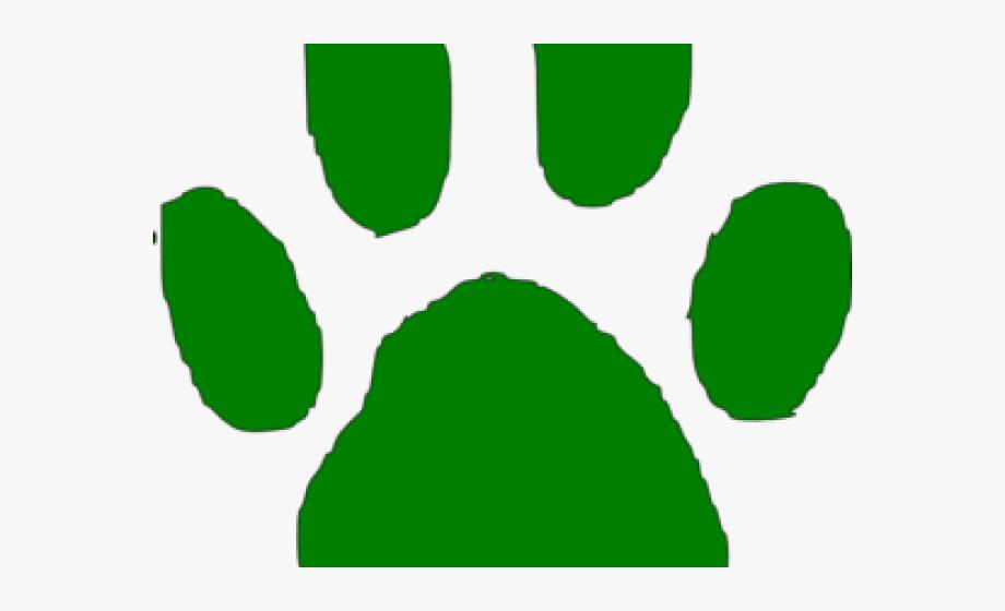 Cougar Paw Clip Art.