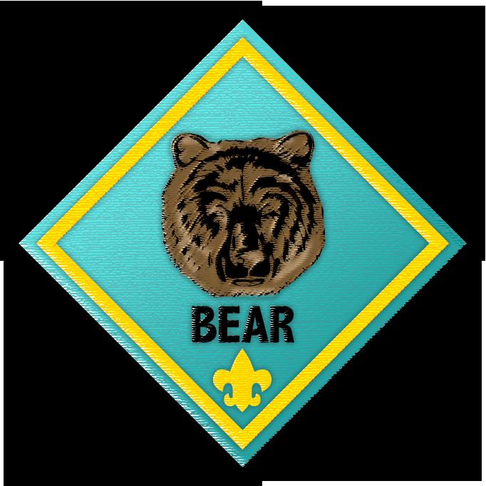 Cub Scout Bear Clipart.