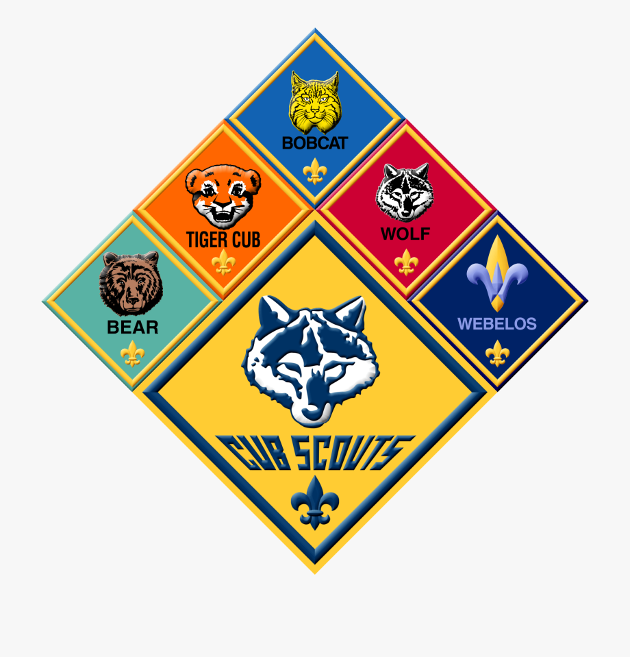 Cub Scout Group Logos Sticker.