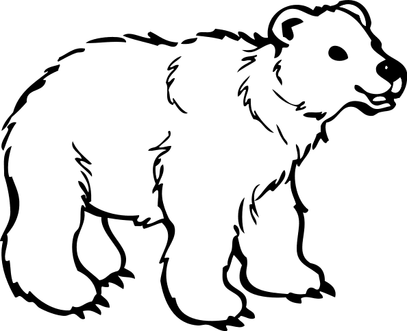 Free Bear Cub Clipart, 1 page of free to use images.