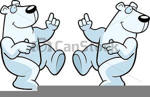 Polar Bear Den Clipart.