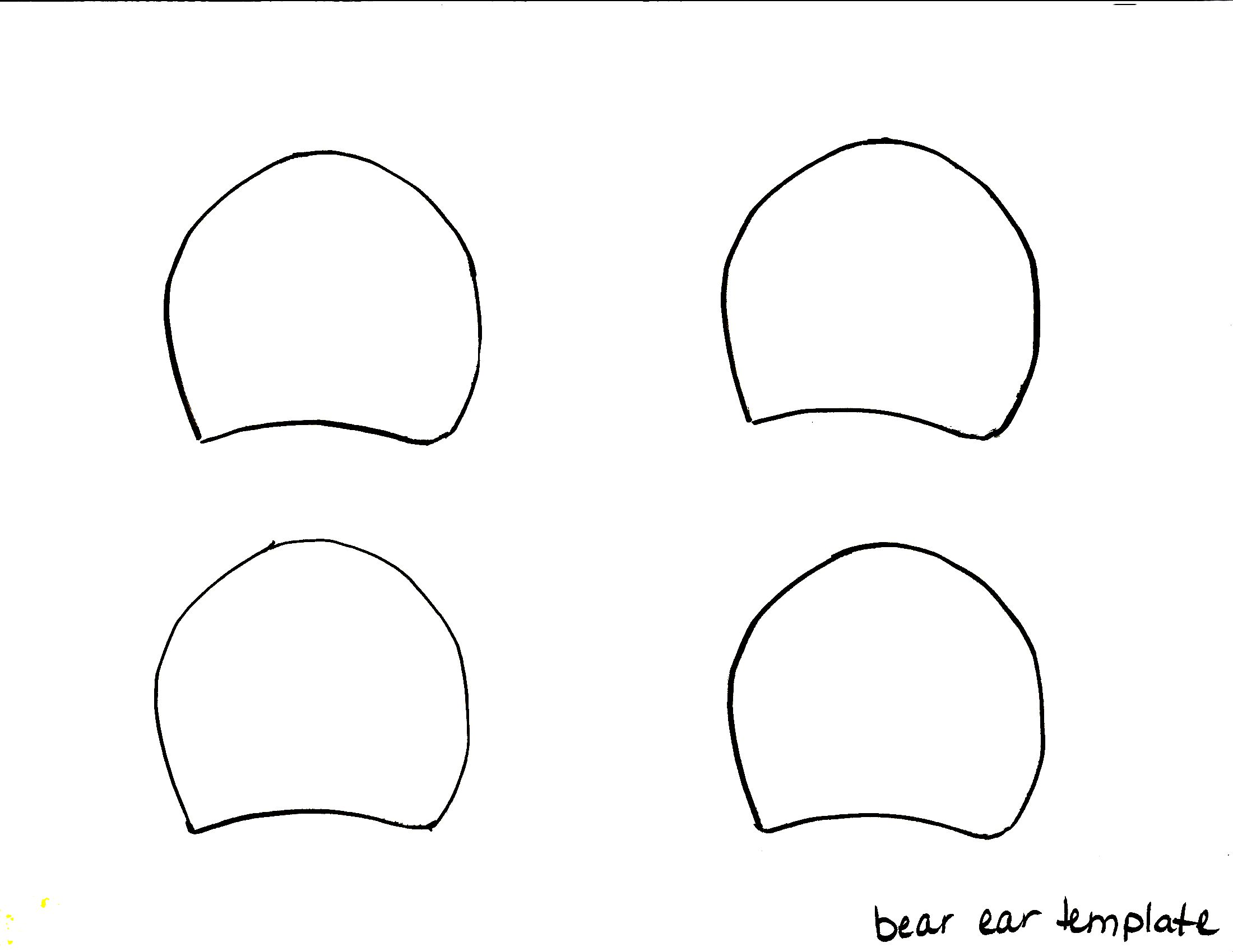 26 Images of Goldilocks Bear Ears Template.
