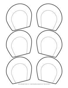 Image result for bear ear headbands kids templates.