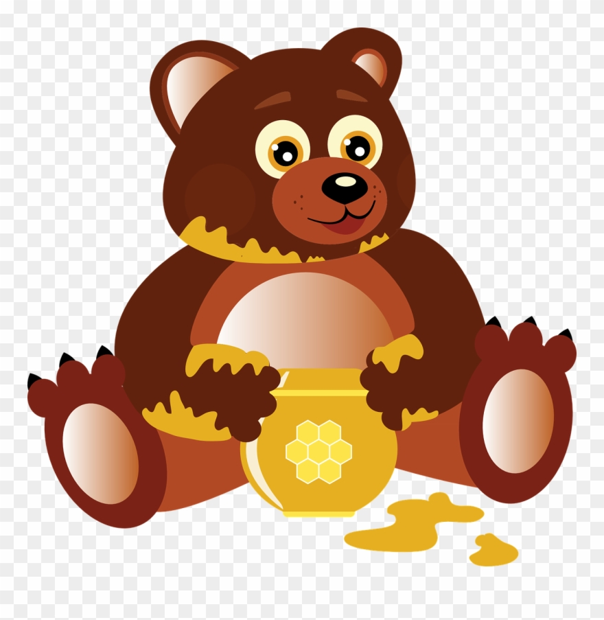 Free To Use Amp Public Domain Bear Clip Art.