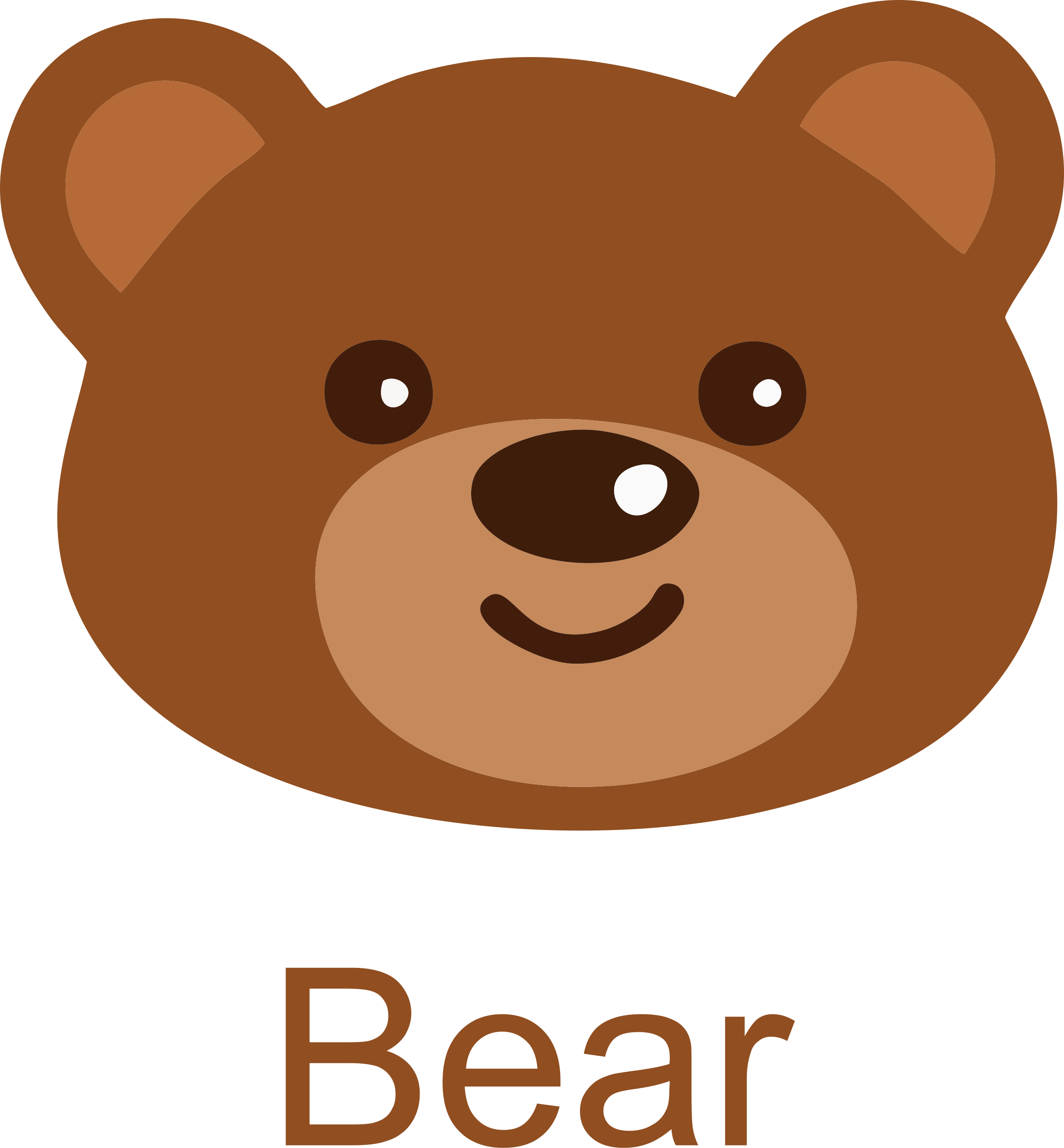 Bear Face Picture Free Download.