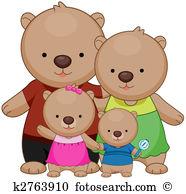 Bear family Illustrations and Clip Art. 893 bear family royalty.