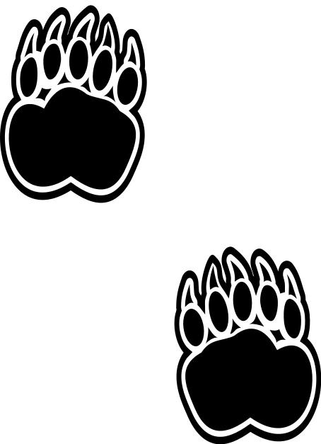 Free Bear Footprint, Download Free Clip Art, Free Clip Art on.