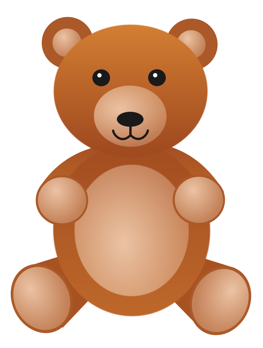 Images Best Teddy Bear Free Clipart #27991.