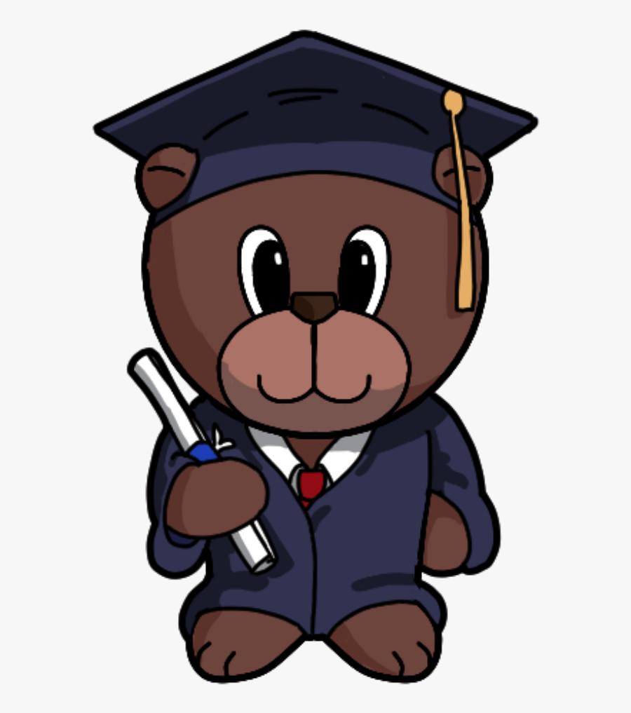 Teddy Clipart Graduation.