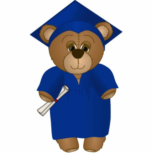 Cartoon Graduation Clip Art.