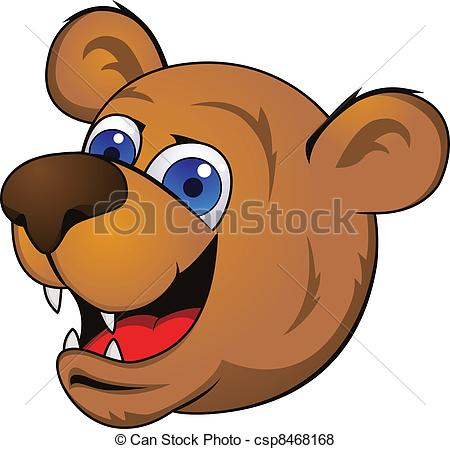 Bear head Clip Art Vector and Illustration. 3,674 Bear head.