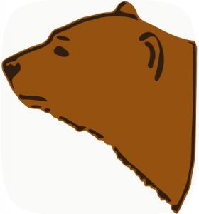 Bear Head Clip Art Download.