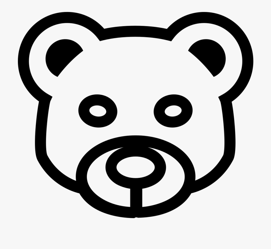 Bear Head Png.