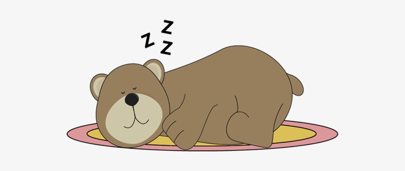Polar Bear Clipart Sleeping Bear.