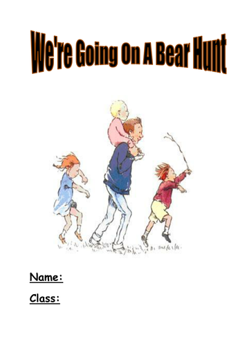 we\'re going on a bear hunt activity booklet.