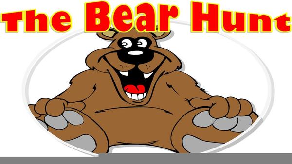 Bear Hunt Clipart.