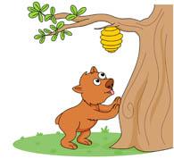 Honey Tree Clipart.