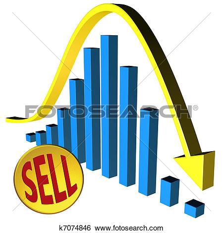 Stock Illustration of Bear market k7074846.