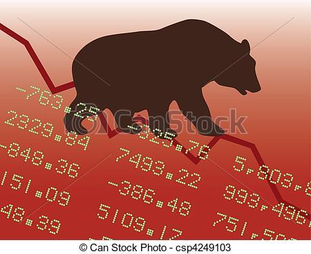 Bear market Illustrations and Clipart. 1,179 Bear market royalty.