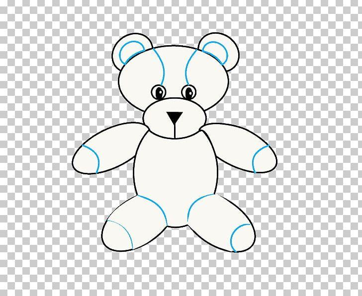 Teddy Bear Line Art Cartoon Nose PNG, Clipart, Area, Artwork, Bear.