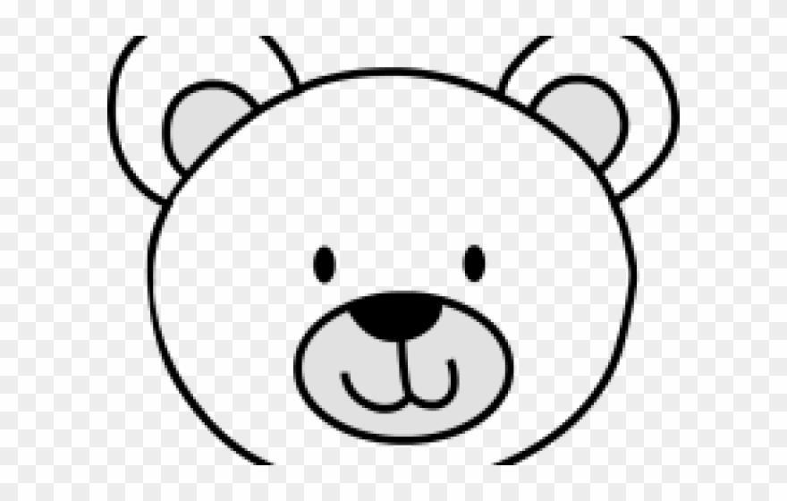 Polar Bear Clipart Head.