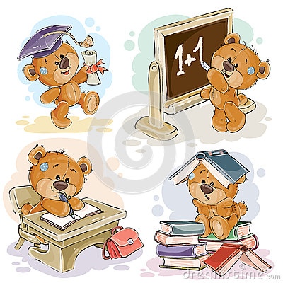 Teddy Bear Numbers Royalty Free Stock Photo.