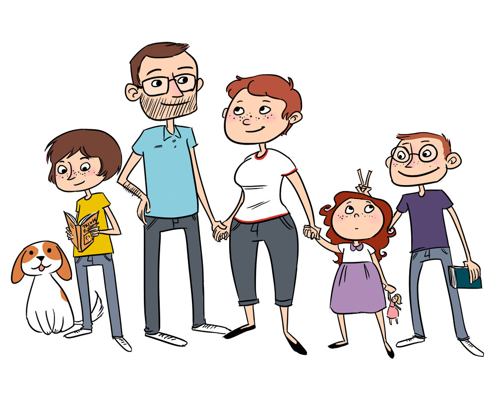 Free Cartoon Pictures Of Family, Download Free Clip Art.