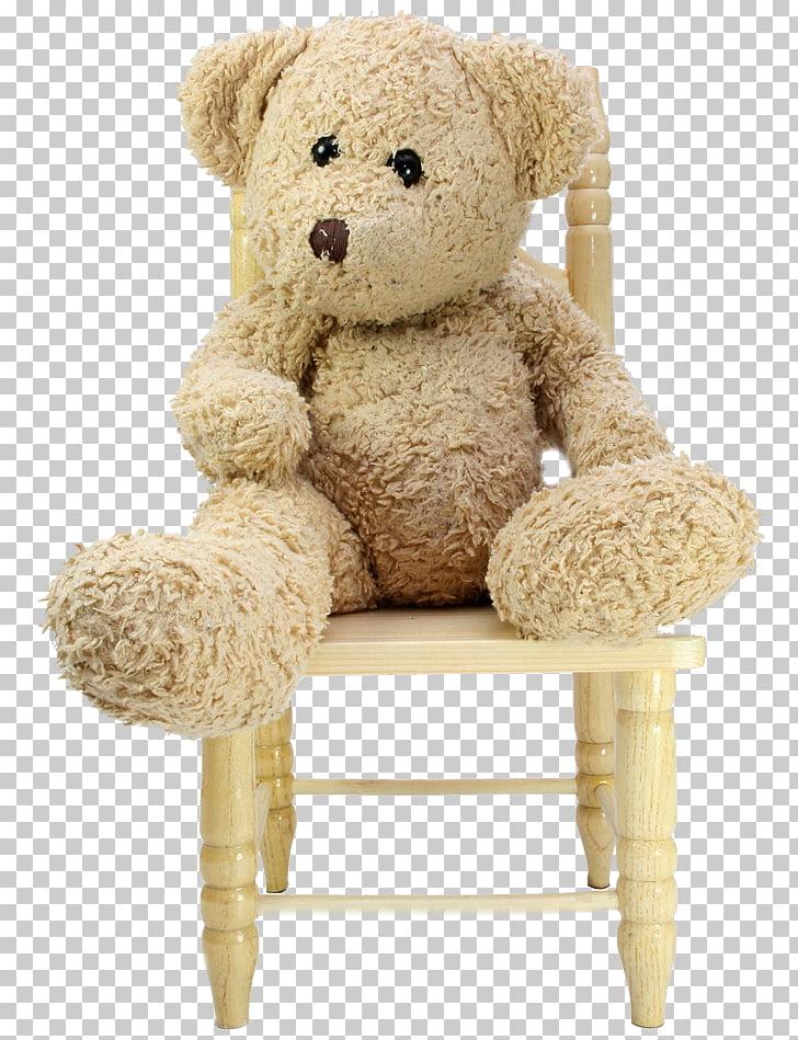 Teddy bear Toy Chair Plush, bear PNG clipart.