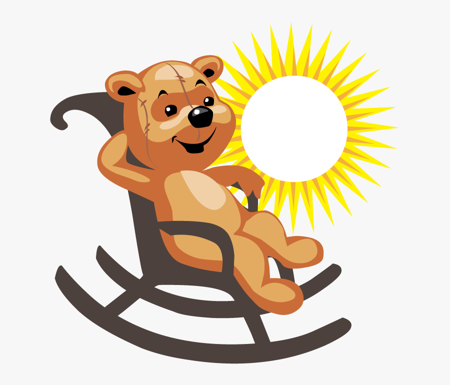 Clipart Chair Baby Bear.