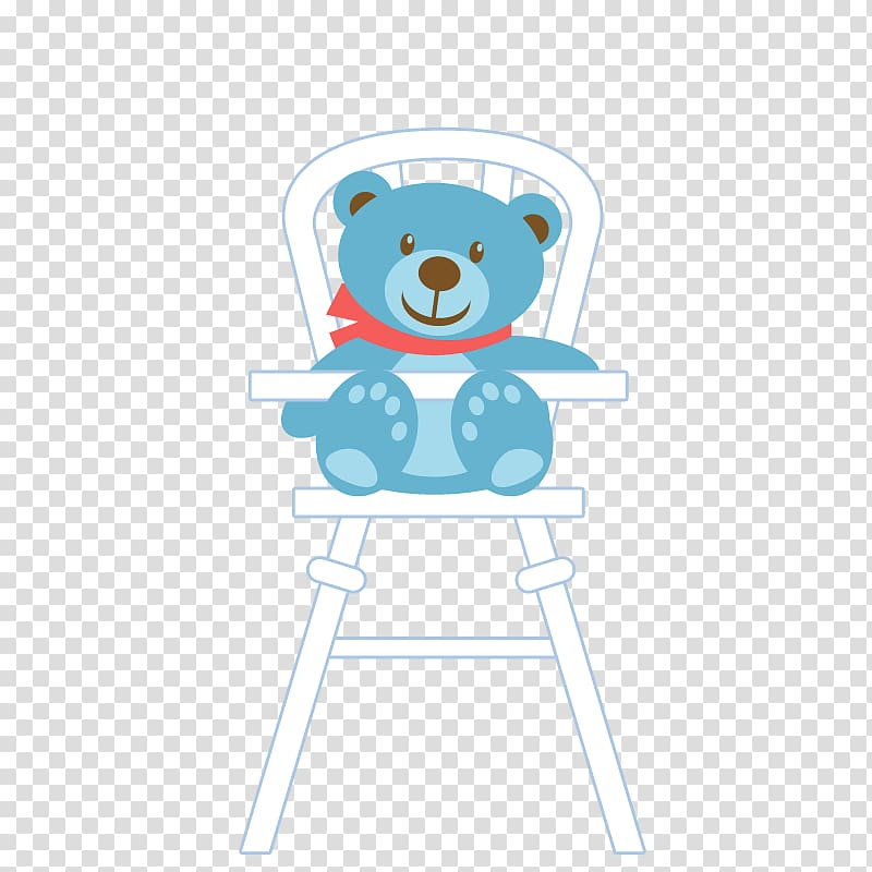 Greeting card Birthday card Gift Zazzle, Bear on a chair.