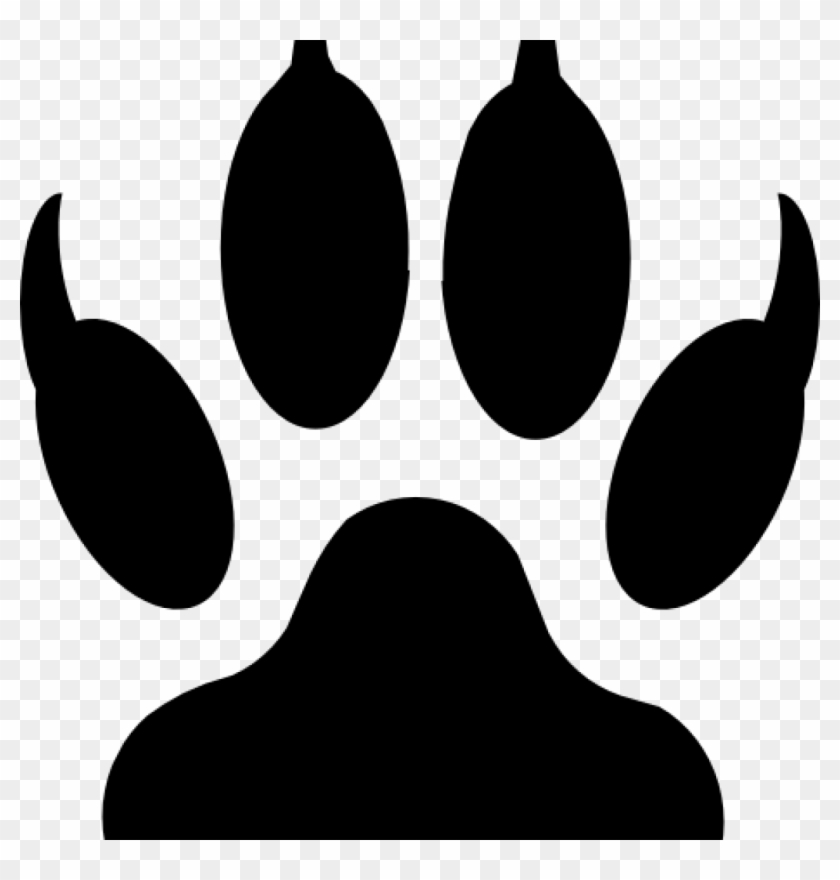 Bear Paw Clip Art Grizzly Bear Paw Print Clipart Clipart.