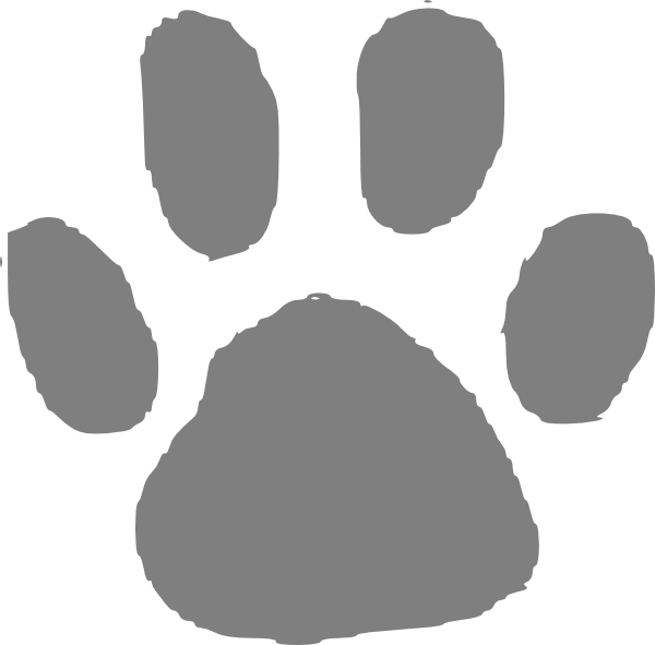 Bear Paw Clip Art at Clker.com.