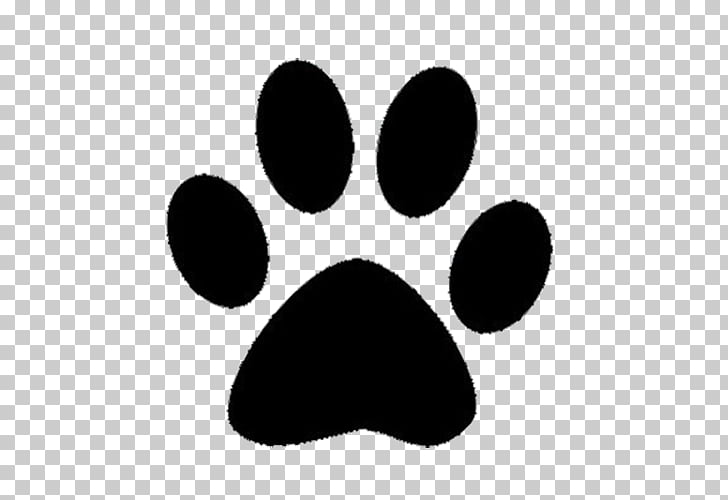 Bulldog Ravenna Foods Cat Pet sitting Paw, Bear paw prints, black.