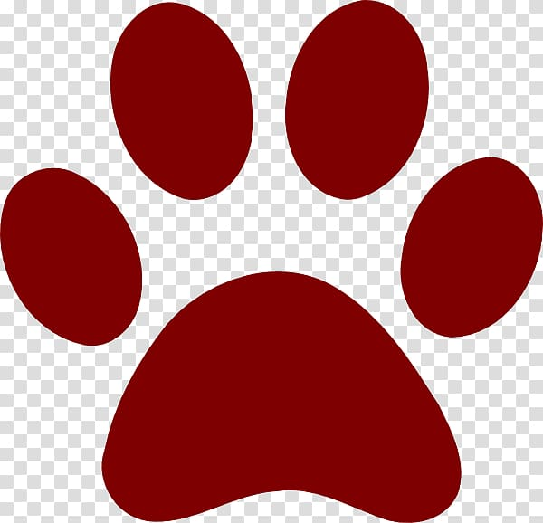 Bulldog Bear Paw Cat , Cougar Paw Print transparent background PNG.
