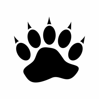 bear paw print png at sccpre.cat.