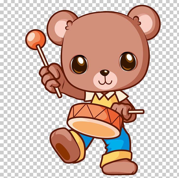 Teddy Bear Cartoon Musical Instrument PNG, Clipart, Baby.