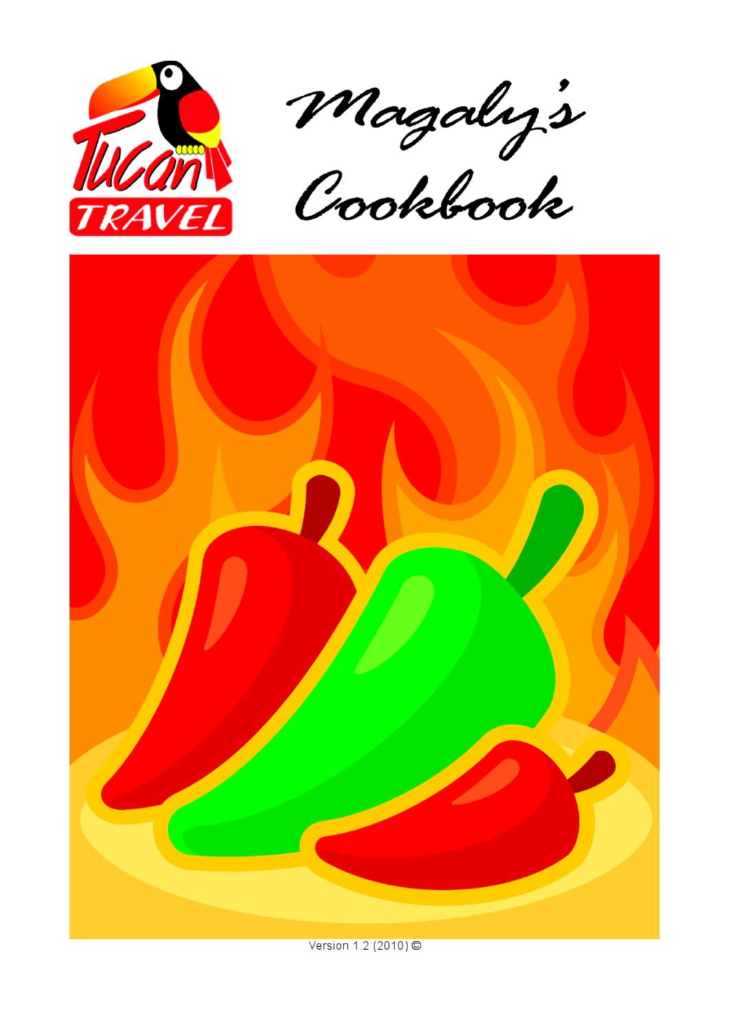 Magaly's Cookbook by Graeme Dearing.