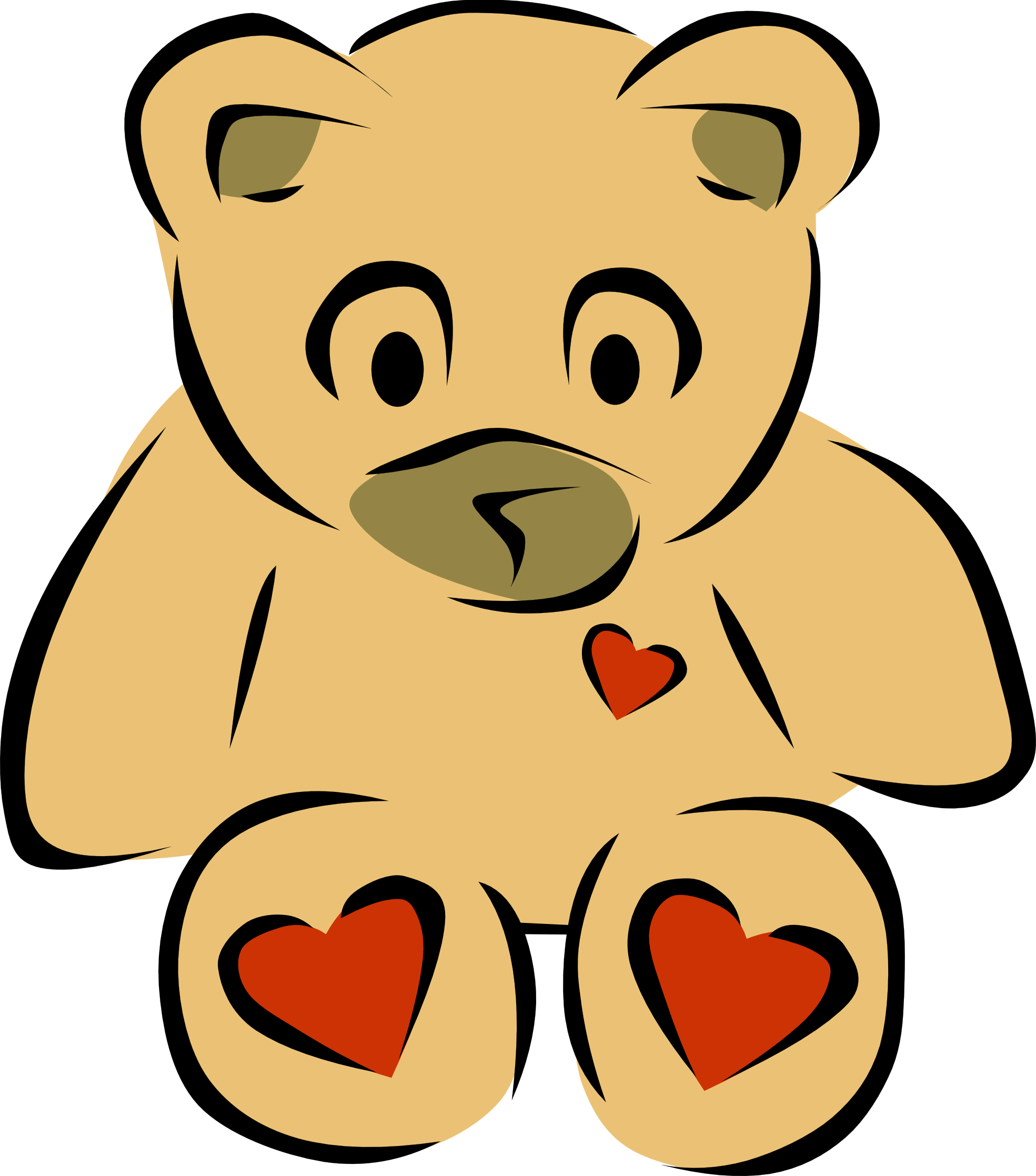 Plush toy clipart.