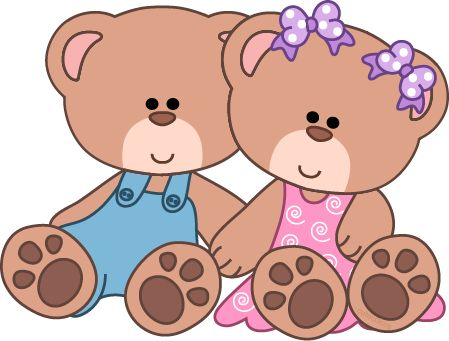 Cute Teddy Bear Clip Art.