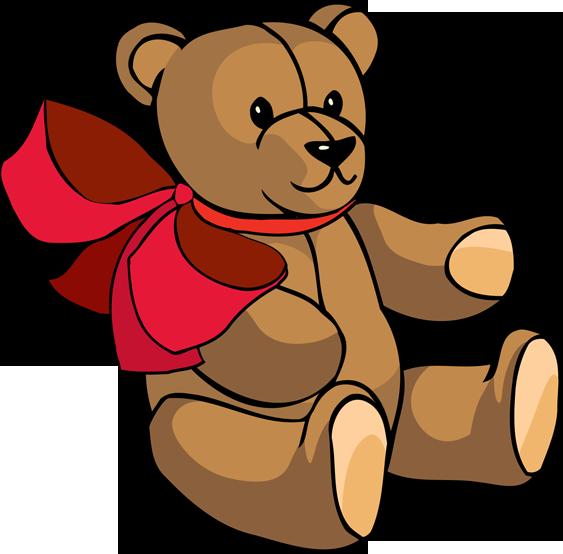 Teddy Bear Toys Clipart.