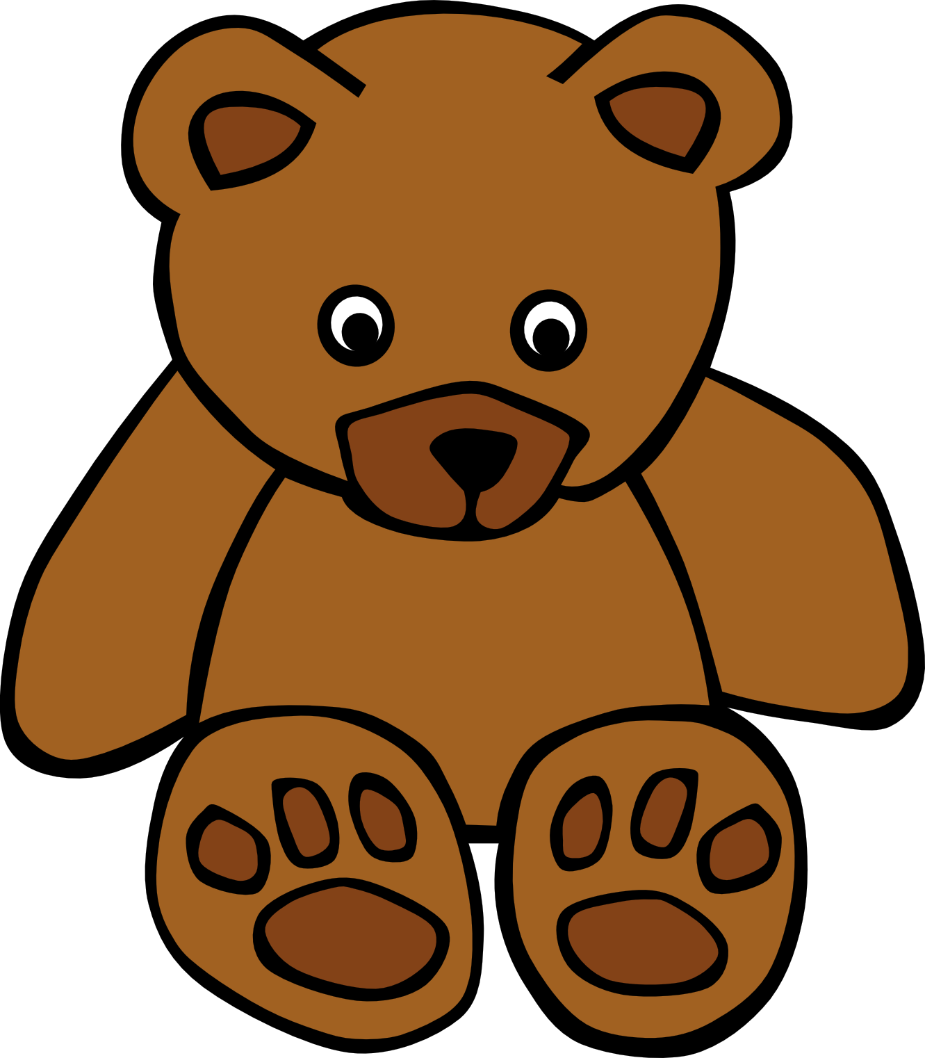 Stuffed Bear Clipart.