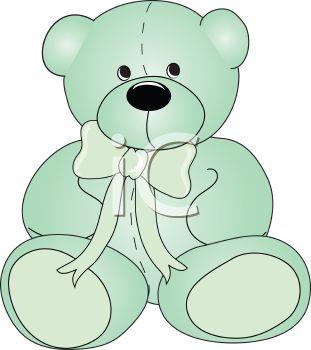 Stuffed animal bear clipart.