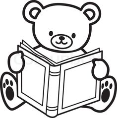 Free Bear Book Cliparts, Download Free Clip Art, Free Clip.